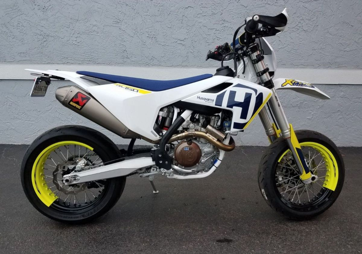 Street Legal - 2018 Husqvarna FS 450
