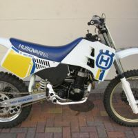 Comes With a History Lesson - 1991 Husqvarna WMX600