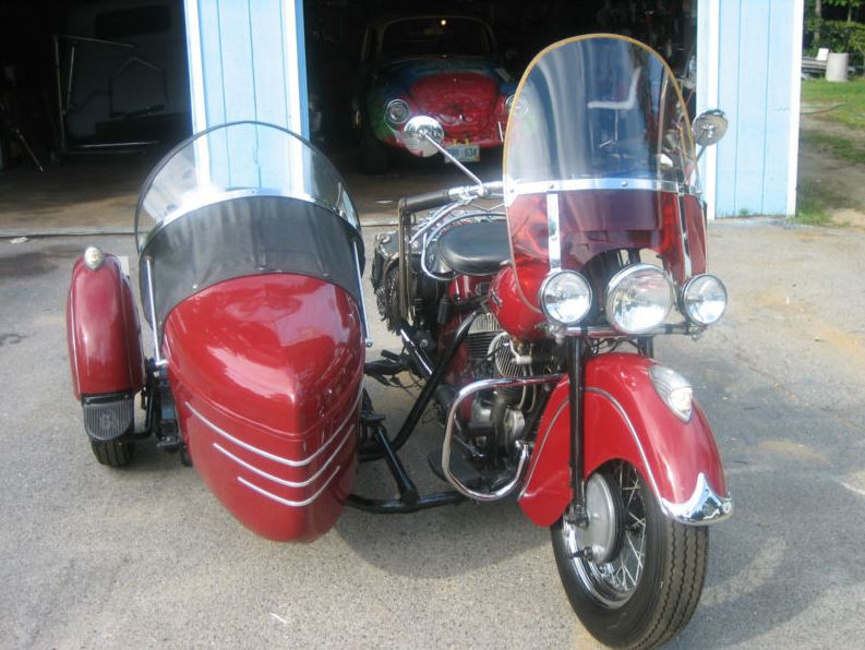 Indian Chief Sidecar - Front