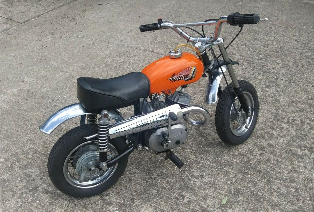 One Owner 1969 Indian Mm5a Bike Urious