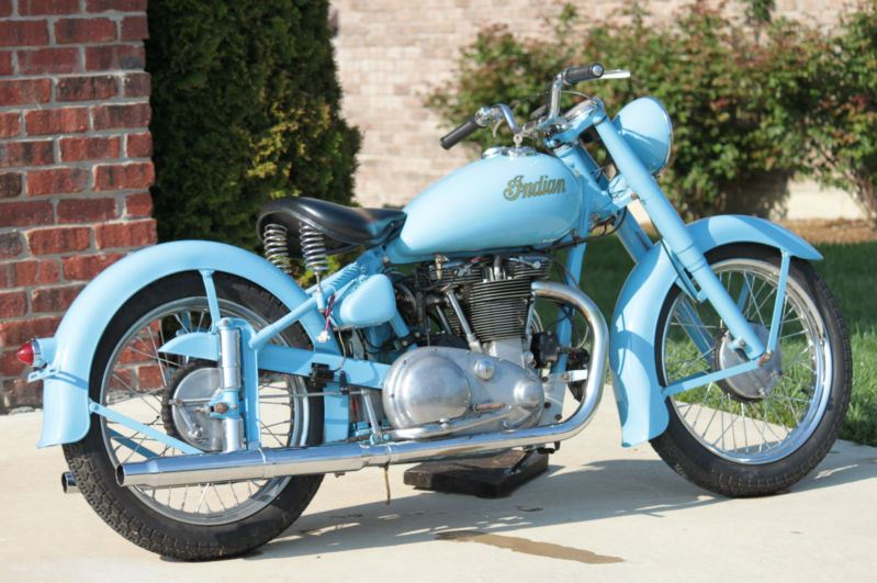 Indian Scout 249 - Right Side