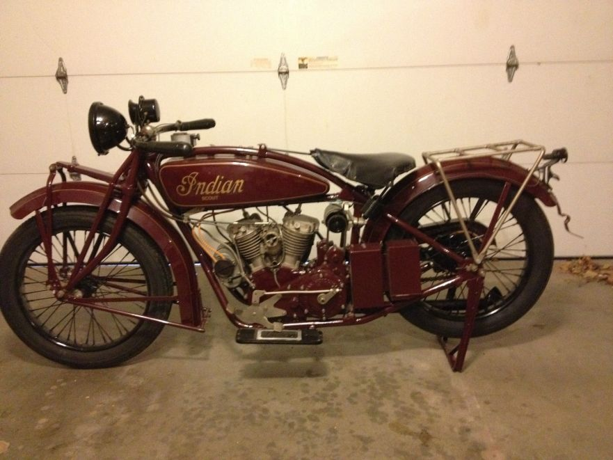 Indian Scout - Left Side