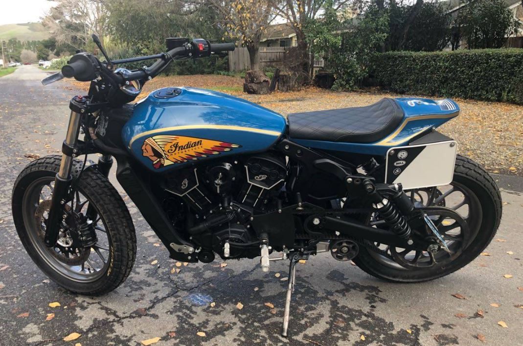 Street Tracker Custom – 2017 Indian Scout Sixty | Bike-urious