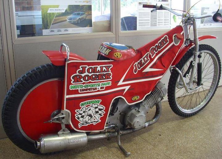 2002 Jawa Speedway Bike Urious