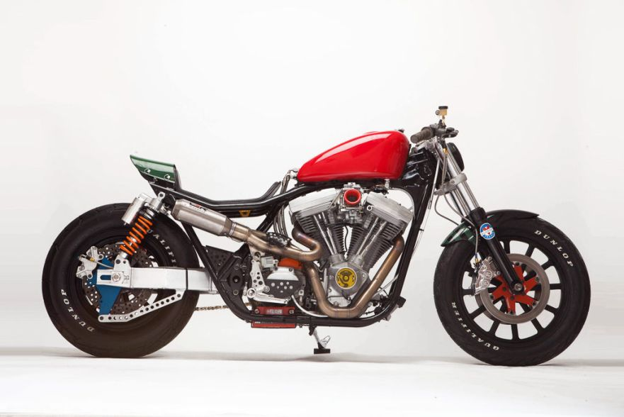 Jeff Wright Build – 1990 Harley FXR Custom – Bike-urious
