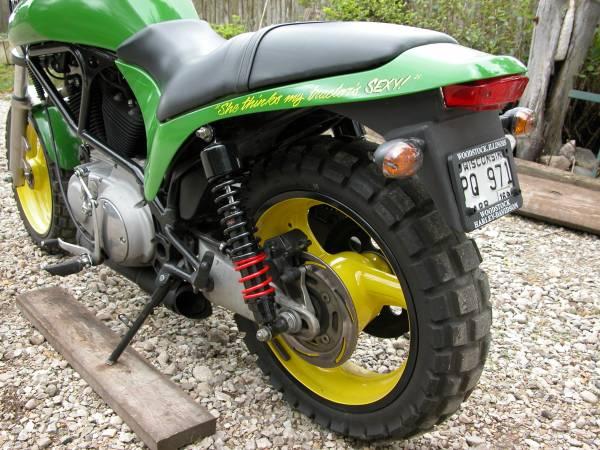 John Deere Themed  U2013 2001 Buell M2 Cyclone  U2013 Bike