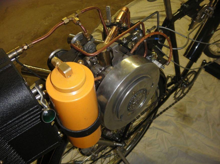 Johnson Motor Wheel - Engine