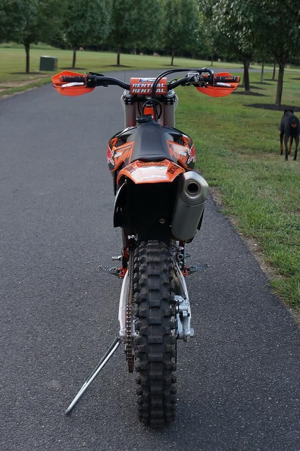 KTM 450 SX-F Factory Edition - Rear