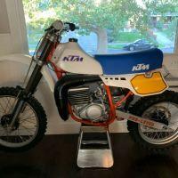 Restored - 1984 KTM 495 MX