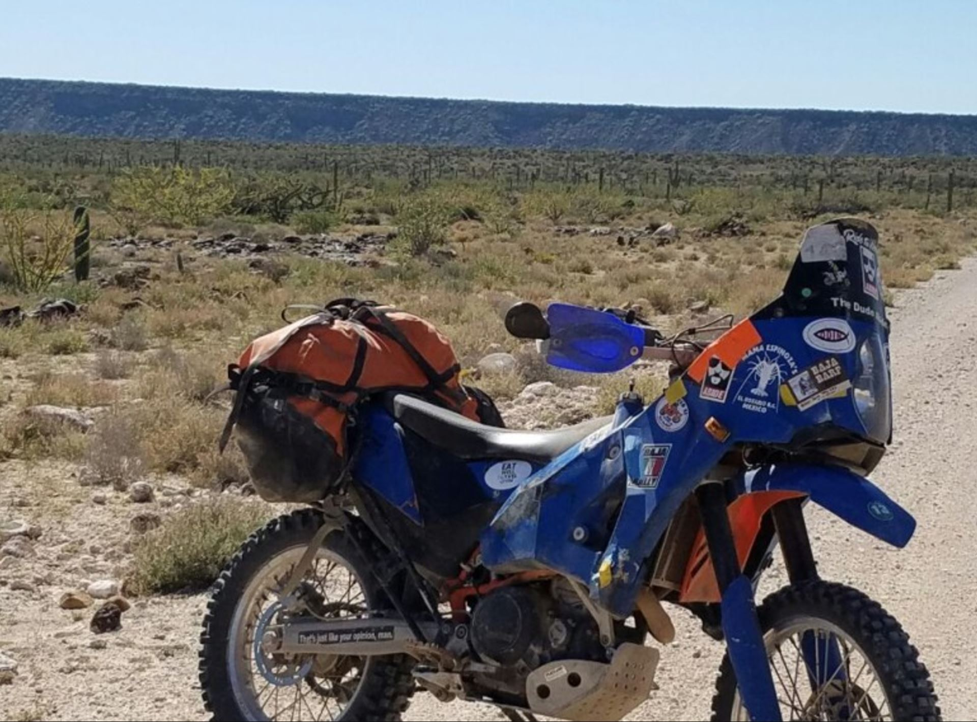 Built for Baja – 2010 KTM 690 Enduro R – Bike-urious