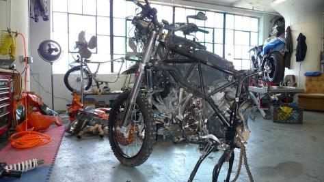KTM 990 2WD - Left Side Naked