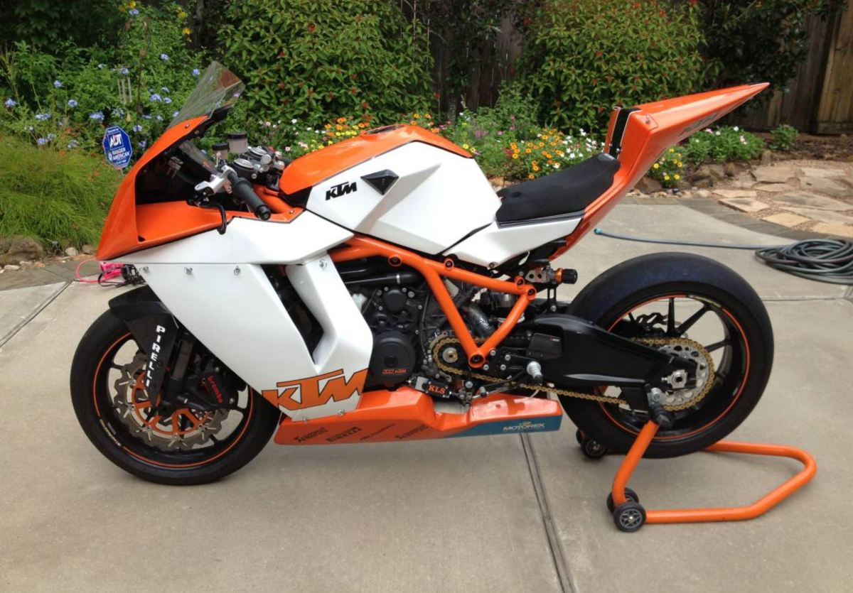 Race Spec - 2012 KTM RC8-RS
