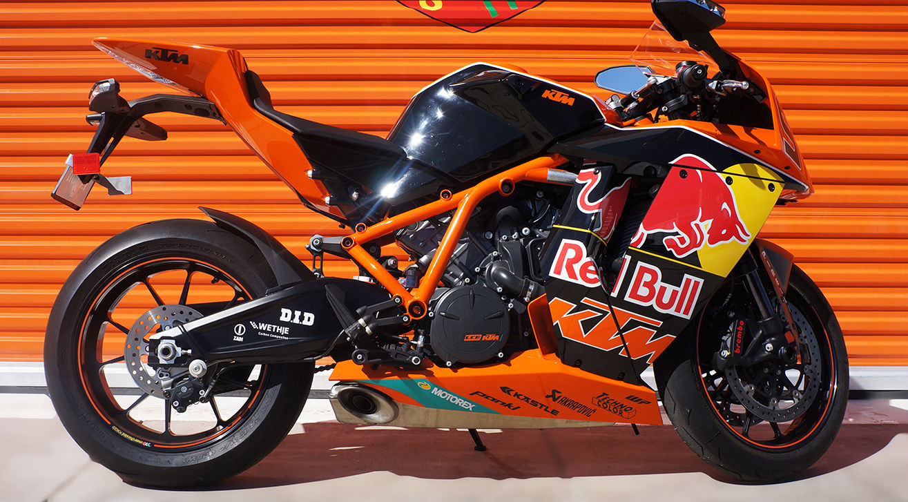 1 of 25 2010 ktm rc8r red bull edition bike urious. Black Bedroom Furniture Sets. Home Design Ideas