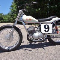 1972 Kawasaki 250 with Champion Frame