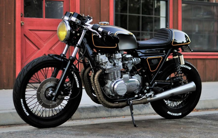 1982 Kawasaki 650 CSR Cafe Racer – Bike-urious
