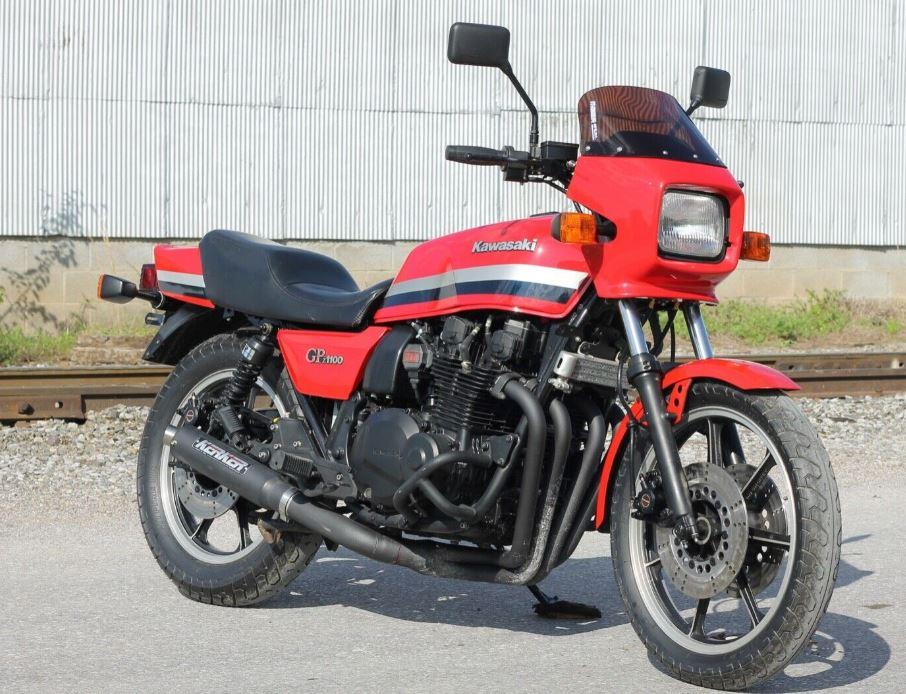 One Owner With No Reserve 1982 Kawasaki Gpz1100 Bike Urious