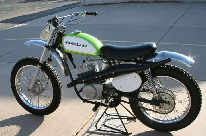 Kawasaki  Green Streak For Sale