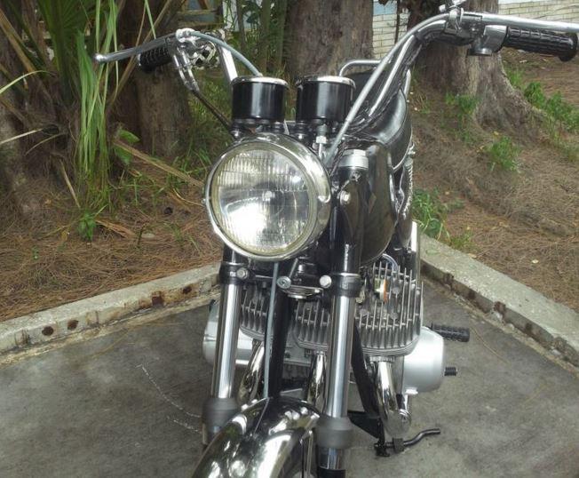 Kawasaki H1 500 - Front
