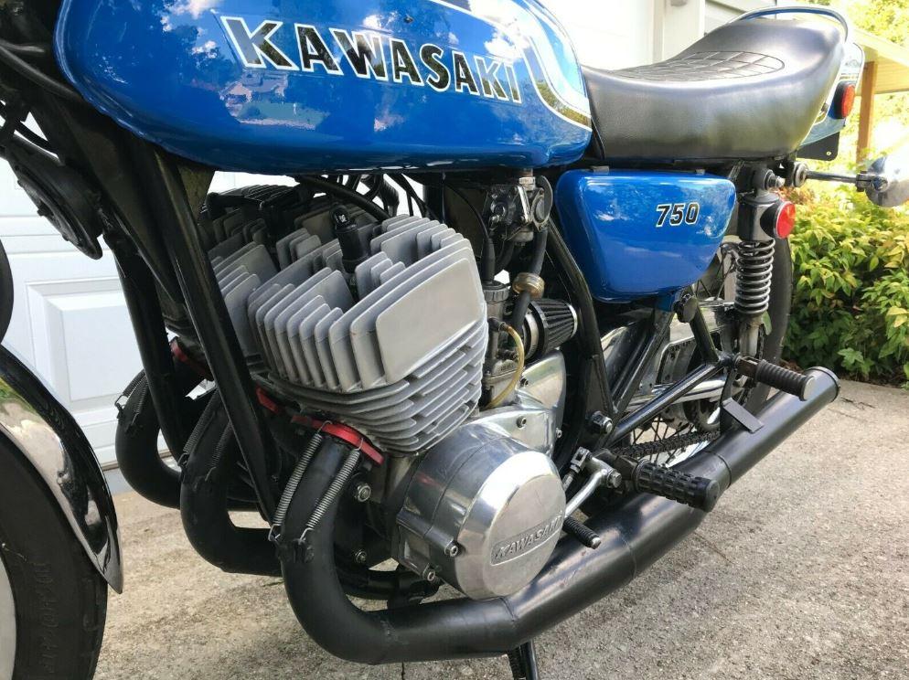 Ending Soon – 1972 Kawasaki H2 750