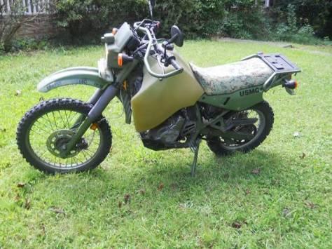 Kawasaki KLR650 M1030B1 - Left Side