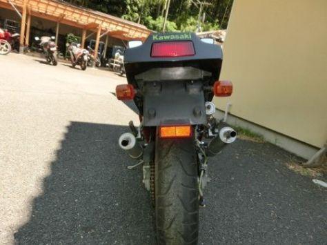Kawasaki KR-1S - Rear