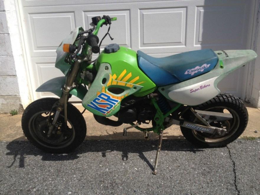 Kawasaki KSR 50 - Left Side