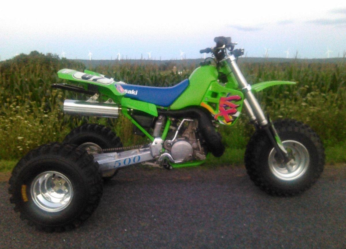Feeling Suicidal? 1995 Kawasaki KX500 Trike