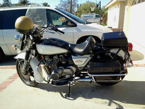 CHP – 1980 Kawasaki KZ1000 Police | Bike-urious