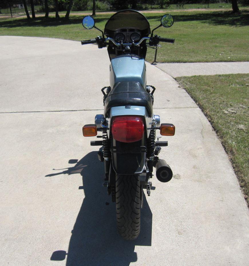 Kawasaki KZ1000 Z1R - Rear