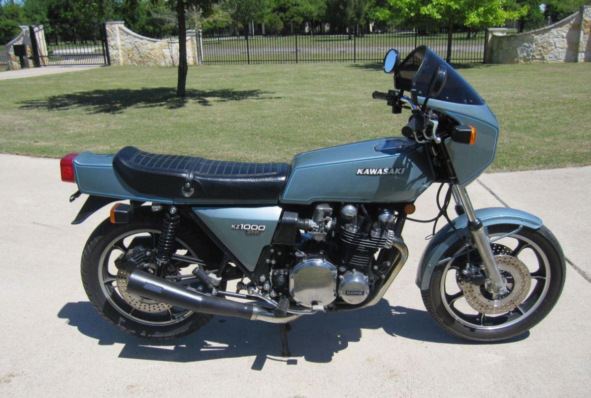 1978 Kawasaki Kz1000 Z1r Bike Urious