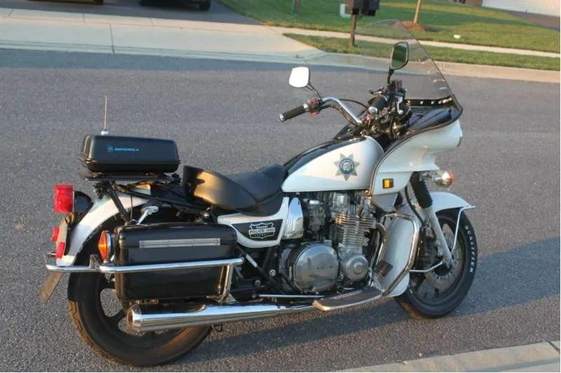 Kawasaki KZ1000P Police - Right Side