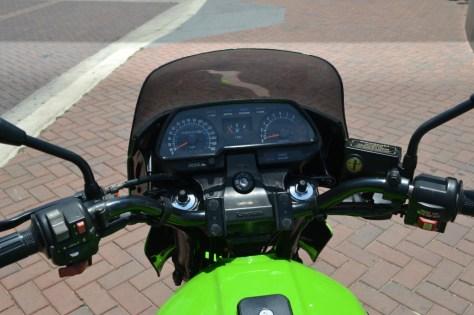 Kawasaki KZ1000R ELR - Gauges