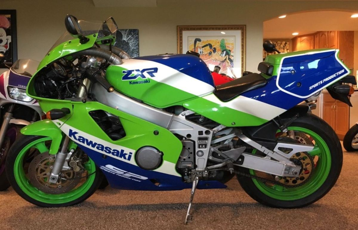 No Reserve 1989 Kawasaki ZXR400