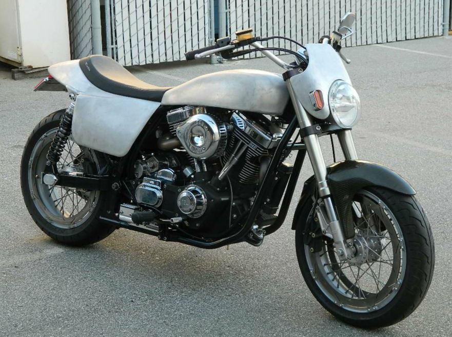 Kosman Framed and S&S Powered – 2005 Harley-Davidson Street Tracker ...