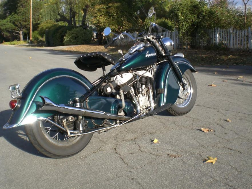 Larry Kahn - Indian Chief - Right Rear