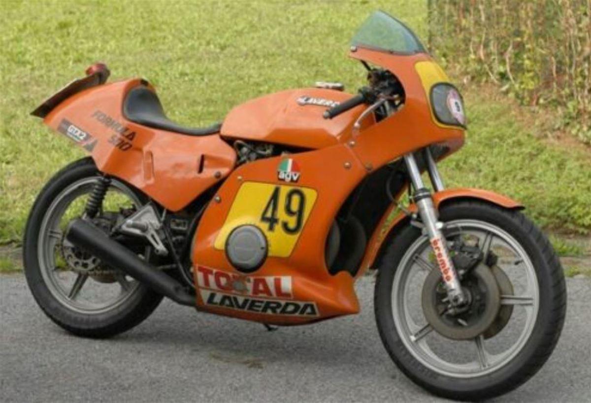 Spec Racer In Italy - 1979 Laverda Formula 500