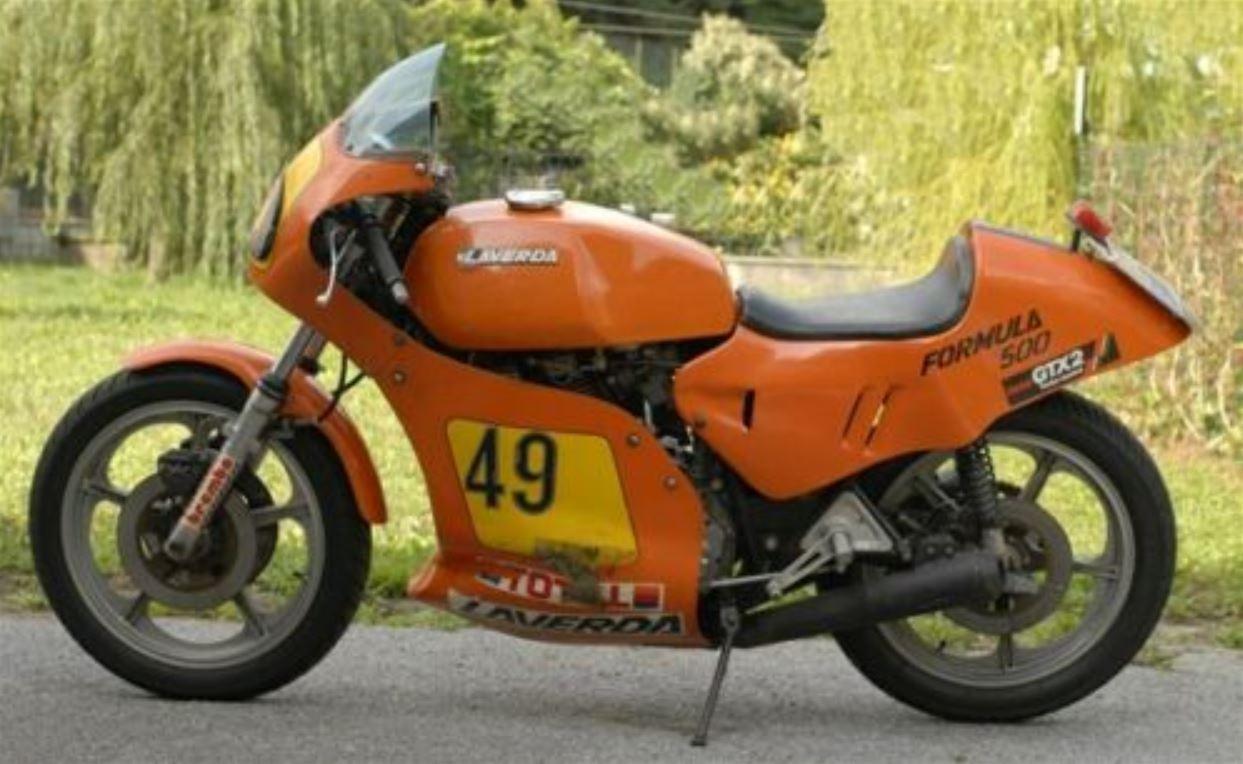 Spec Racer In Italy – 1979 Laverda Formula 500