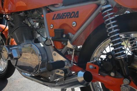 Laverda 750 SFC - Engine