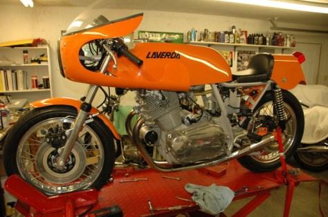Laverda 750 SFC - Left Side