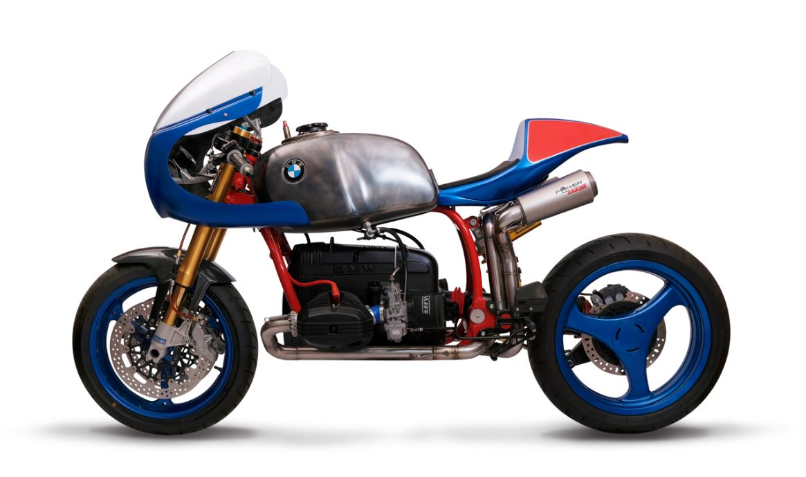 Moto2 Tailed - Liberty Motorcycles 1986 BMW R80 Cafe Racer