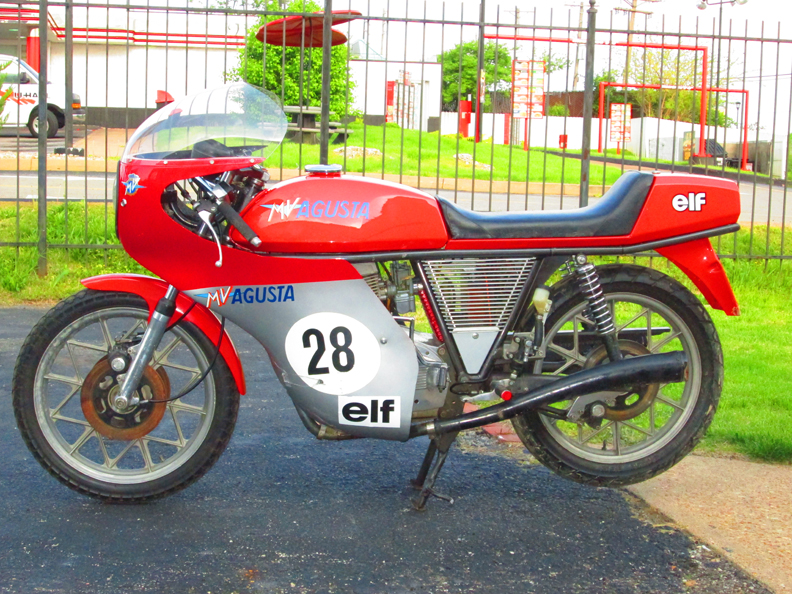 MV Agusta 350 Ipotesi - Left Side