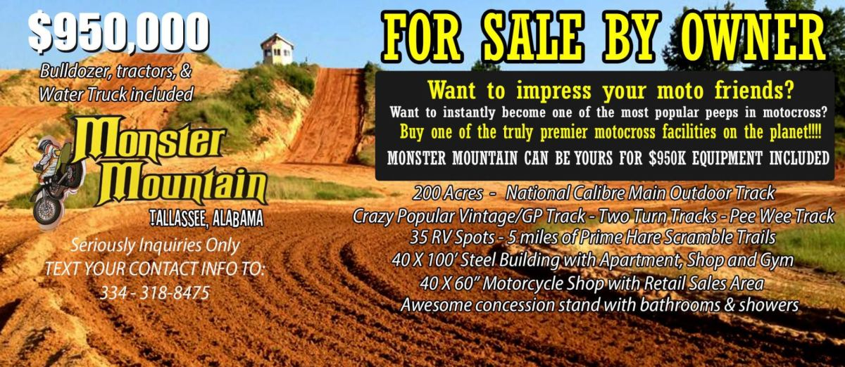 Buy An Entire MX Park!
