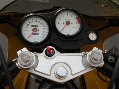 MZ Skorpion Sport Cup - Cockpit