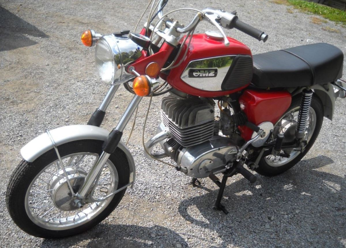 Never Started But Ending Soon - 1974 MZ TS250