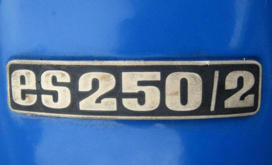 MZ Trophy ES250 - Emblem