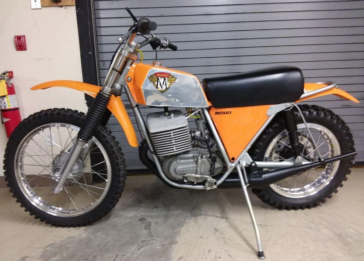 Restored - 1973 Maico 501