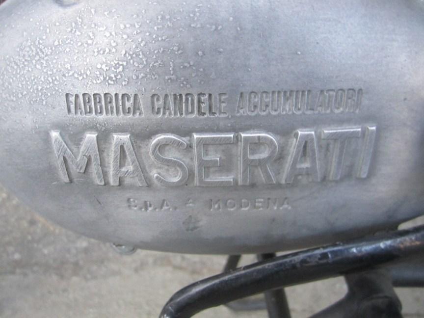 Maserati Tipo 125-T2 - Engine