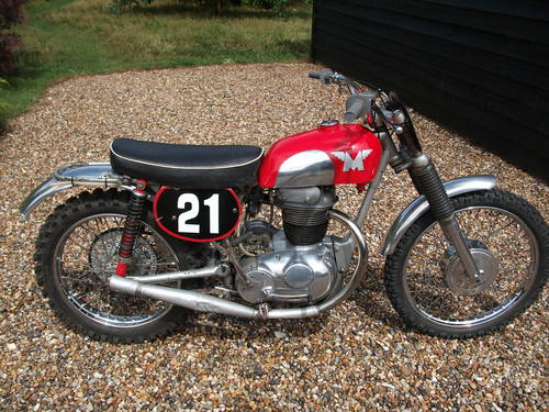An example of a Matchless 250 Scrambler, photo from http://www.carandclassic.co.uk/car/C237550