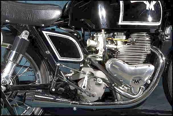 Matchless G45 - Engine