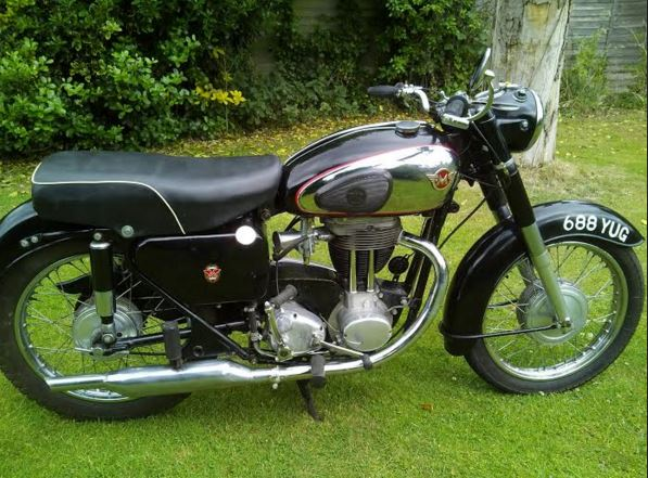 Matchless G80 - Right Side